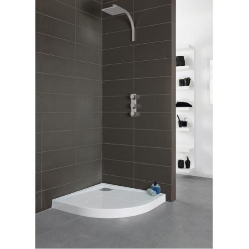 receveur de douche 1 4 rond 90x90 kinecompact antid rapant. Black Bedroom Furniture Sets. Home Design Ideas