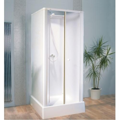 Cabine de douche pour petits espaces DELTA 70x70 cm