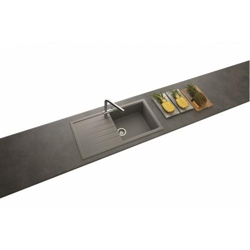 Evier de cuisine Premium Grande cuve EV40011 Croma* Ev40011 022 amb