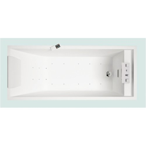 Baignoire Balneo 190x80 Sense 4 Dream Air Sans Tablier