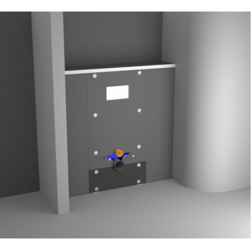 Habillage à carreler universel pour Bâti-support Easy Bâti Technic Easy bati version façade