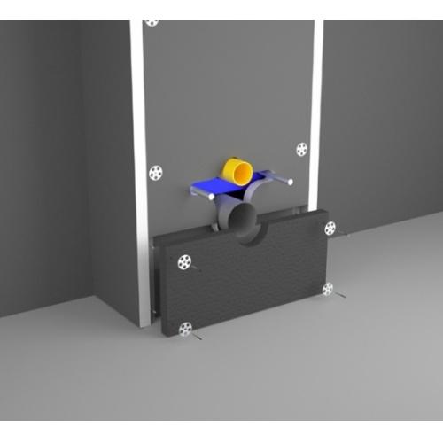 Habillage à carreler universel pour Bâti-support Easy Bâti Technic Eclaté plaque de renfort