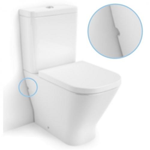 Pack WC sortie Duale CleanRim The Gap Compact Roca Cleanrim3