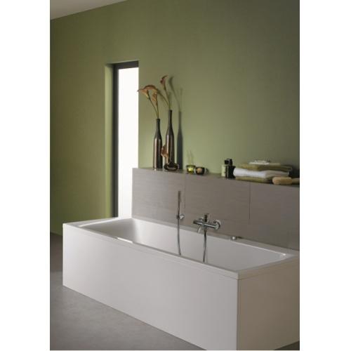 baignoire rectangulaire nue connect 170x75 avec trop plein cach. Black Bedroom Furniture Sets. Home Design Ideas