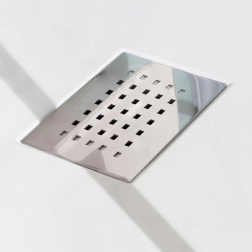 Cabine de douche Kineform Thermostatique 100x80 - Coulissante - Acier Zoomgrillereceveur