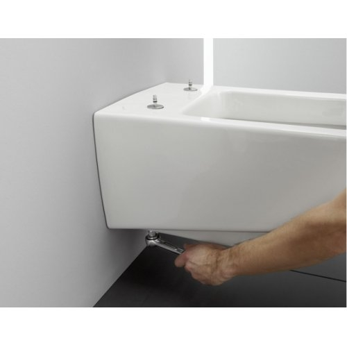 Pack WC Geberit UP320 + cuvette sans bride Rimless + plaque Sigma CHR mate Easyfit 03