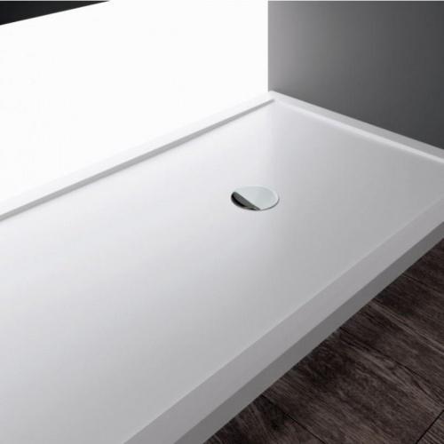 Receveur Olympic Plus Blanc - Hauteur 12.5 cm - 110x70 cm OLYMPIC PLUS Blanc