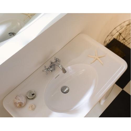 Mélangeur lavabo rétro chromé GRAZIA - GRC5118/6CR Grazia 02 c