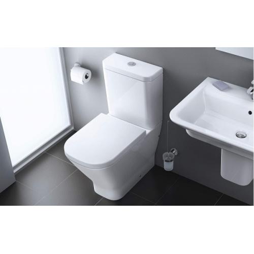 Pack WC sortie Duale CleanRim The Gap Compact Roca 2014 toilettes roca clean rim the gap 1