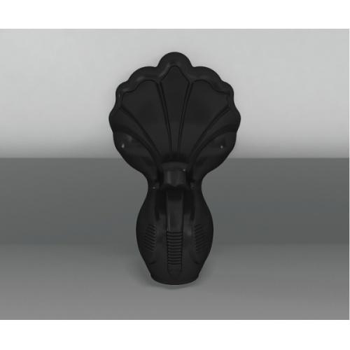 Baignoire à poser CLEARWATER Classico Grande - Pieds Noirs L1 01 black