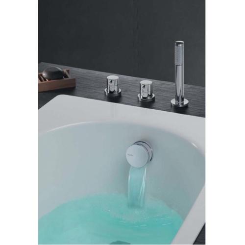 Vidage baignoires à câble avec remplissage cascade - 57 cm Xtv1450