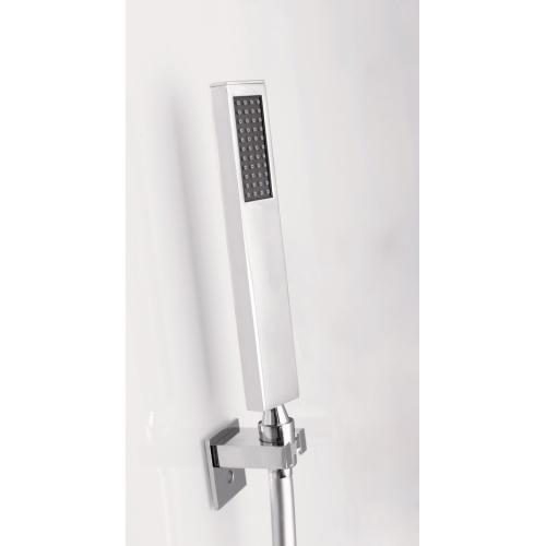 Cabine de douche EDEN C80 faible Hauteur - Porte pivotante - 80x80cm Zoom douchette eden