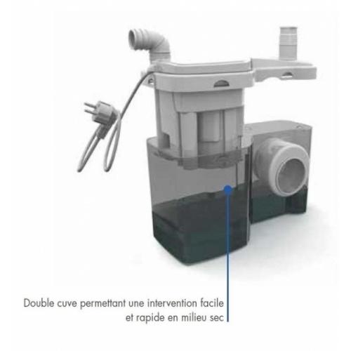 Broyeur 2 entrées W12P Watermatic W12 schéma 1 2016