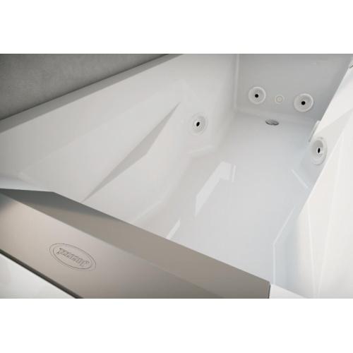 Baignoire Balneo MyWay Jacuzzi gauche 170 x75 avec vidage Myway intérieur 170 g
