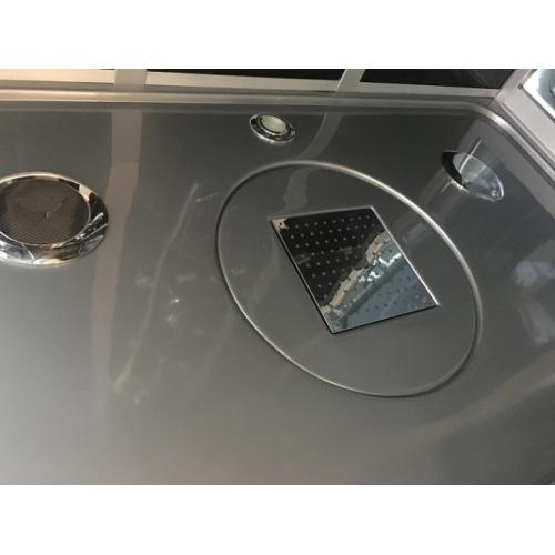 Cabine de douche Rectangulaire Premium XXL 85x140cm Aurlane Premium plafond