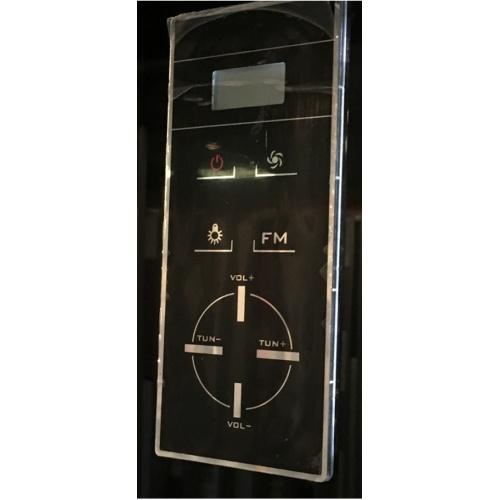 Cabine de douche Rectangulaire Premium XXL 85x140cm Aurlane Premium commande