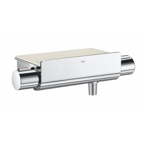 Colonne Douche Thermostatique Deck-T Square - Roca Mitigeur deck t 2000 zoom