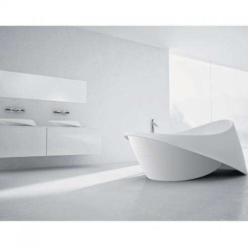 Baignoire ilôt Design CEDAM 200x80 Galante Baignoires ilot galante blanche