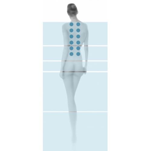 Baignoire Ilot MUSE 180x90 - Programme Base Silhouette woman shiatsu