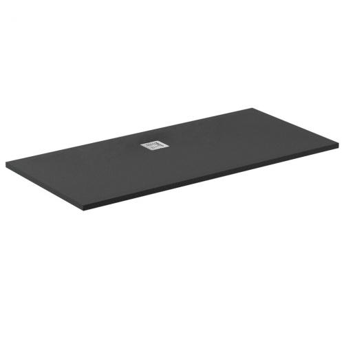 receveur de douche ultra flat s noir 170x70. Black Bedroom Furniture Sets. Home Design Ideas