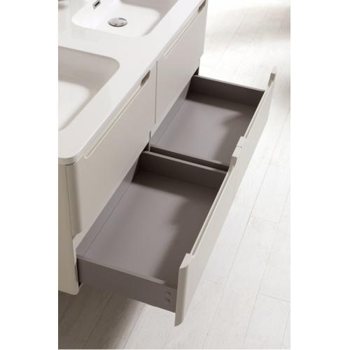 Meuble double vasque 120cm TOOLA Bois Clair sans miroir 2r2a9576