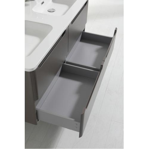 Meuble double vasque 120cm Toola Argile miroir lite 2r2a9536