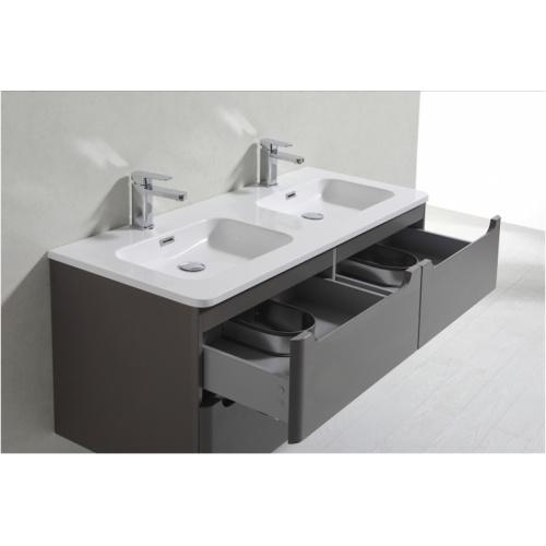 Meuble double vasque 120cm Toola Argile miroir lite 2r2a9538