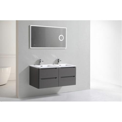 Meuble double vasque 120cm Toola Argile miroir lite 2r2a9532