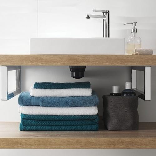 Bonde recoupable et siphon de lavabo ultra compact NANO 6.7 Nano 1