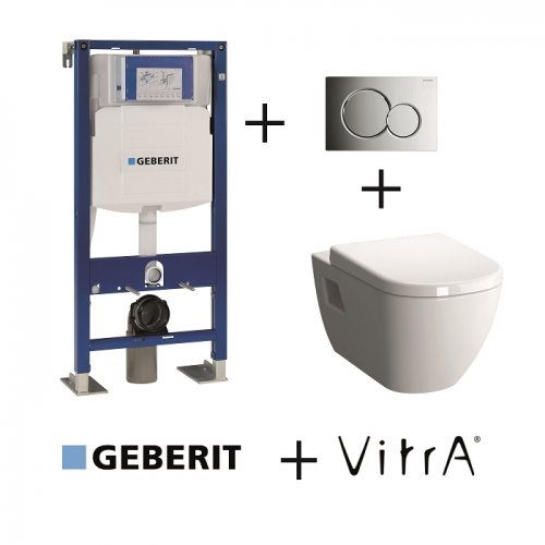 Pack WC Geberit UP320 + Cuvette D-Light Vitraflush 2.0 + plaque Sigma chromée brillante Pack wc geberit + vitra flush + chromé brill (3)