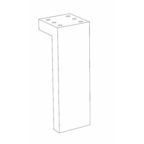 Meuble simple vasque TRENDY 70 cm Cristal Argile Pieds trendy
