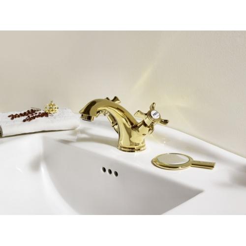 Mélangeur lavabo CHAMBORD rétro Doré - CH10852 Ch10852 amb