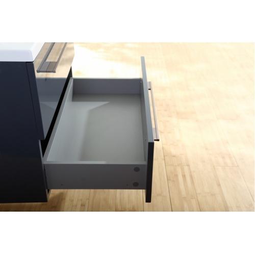 Meuble simple vasque 77 Saturn 2.0 Gris Brillant sans miroir Img006199(jpeg)