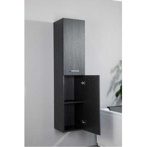colonne de salle de bain jupiter 2 0 135cm gris structur. Black Bedroom Furniture Sets. Home Design Ideas