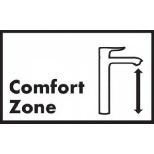 Mitigeur lavabo LOGIS 100 Eco CH3 CoolStart sans tirette** Comfort zone
