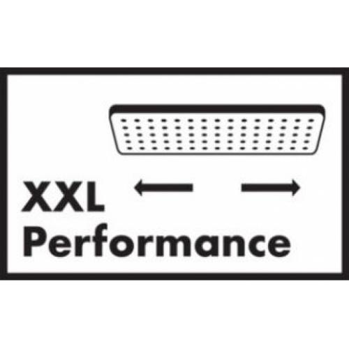 Colonne de douche Showerpipe Crometta E 240 1jet - 27271000* Xxl performance