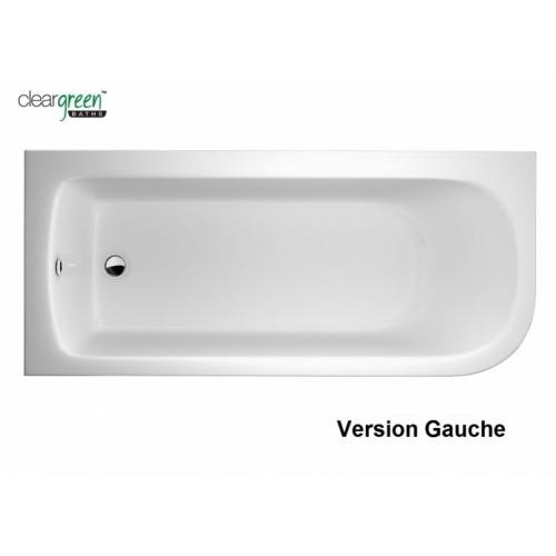 Baignoire d'angle VIRIDE Cleargreen 170 cm - Version Gauche Baignoire VIRIDE Gauche