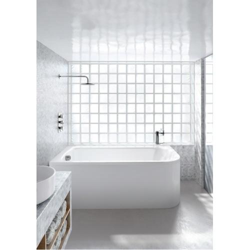 Baignoire d'angle VIRIDE Cleargreen 170 cm - Version Gauche Cleargreen baths cover v5