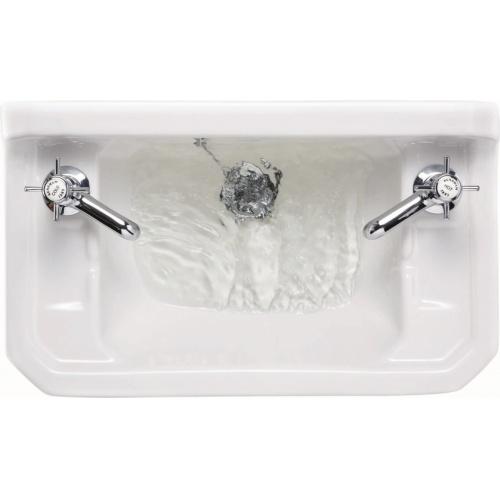 Lave-mains + Console EDOUARDIEN - 2 Trous de Robinetterie Edwardian cloakroom basin b8 top t