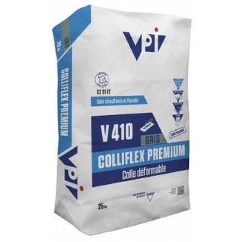 Mortier-Colle Déformable COLLIFLEX Premium V410 Gris - sac 25 kg - VPI