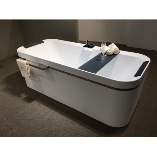 baignoire hydro air divina f blanc brillant sans robinetterie. Black Bedroom Furniture Sets. Home Design Ideas
