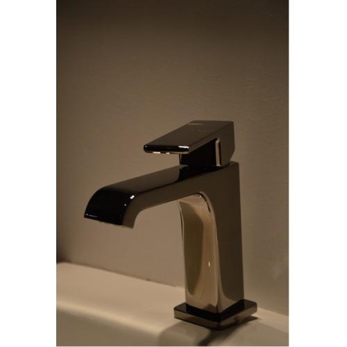 Mitigeur lavabo QUADRI S Chromé Noir - QS22172 - ONDYNA* Qs22172 (1)