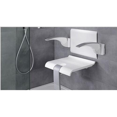 Dossier + 2 accoudoirs ARSIS Blanc - 047720 Blanc gris