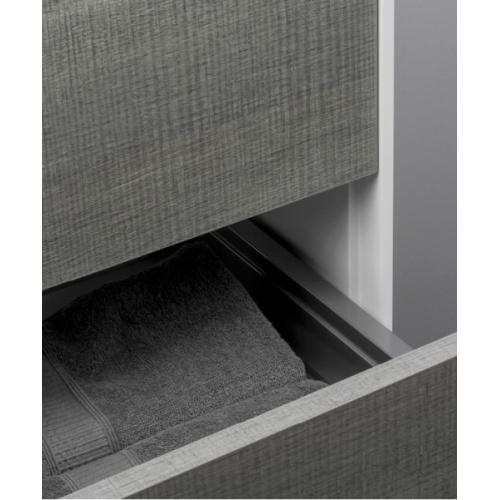 Meuble simple vasque PARIGI 121 cm - Tranche Grigio - Compo 10 Trg tranche grigio