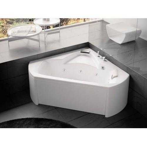 baignoire baln o pure design d 39 angle 140x140 detente t te droite. Black Bedroom Furniture Sets. Home Design Ideas