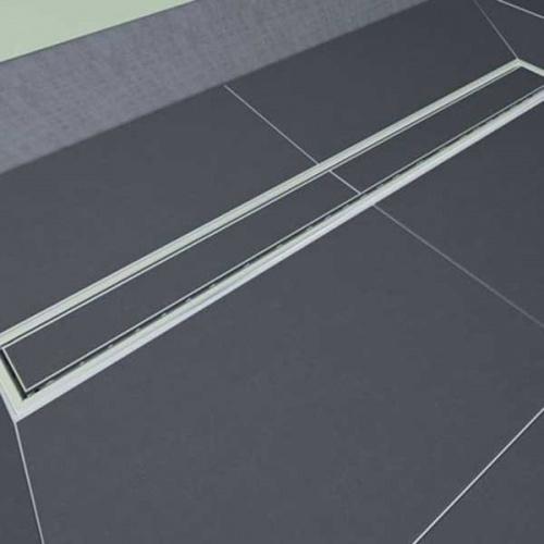Caniveau de sol à carreler Venisio expert 700 mm - 30720833* Grille a carreler