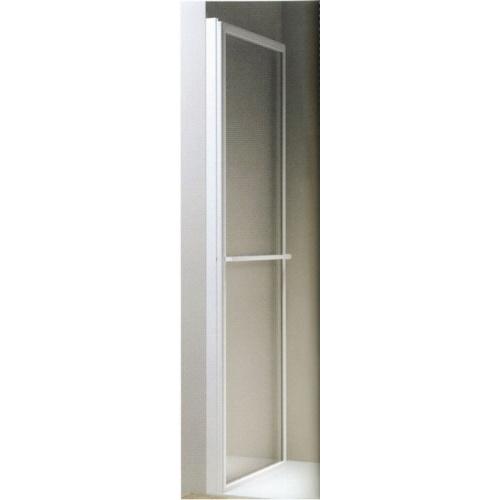 Porte coulissante et pivotante SECURE Noir mat - L120 cm Secure jacuzzi repliée laqué blanc