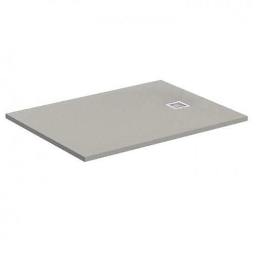 receveur de douche ultra flat s gris b ton 120x70 cm. Black Bedroom Furniture Sets. Home Design Ideas