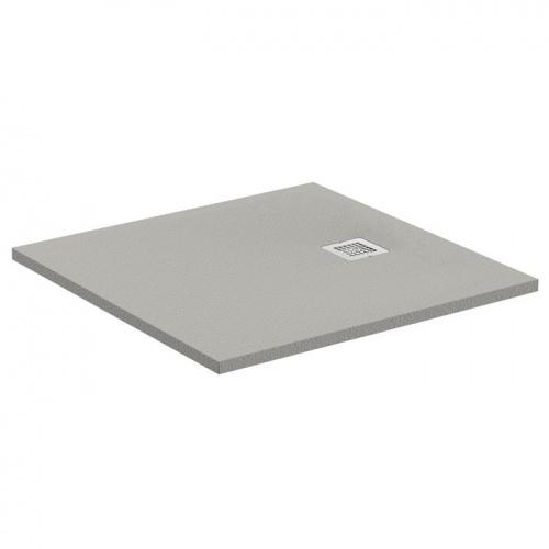 Receveur de douche Ultra Flat S - Gris Béton - 80x80 cm