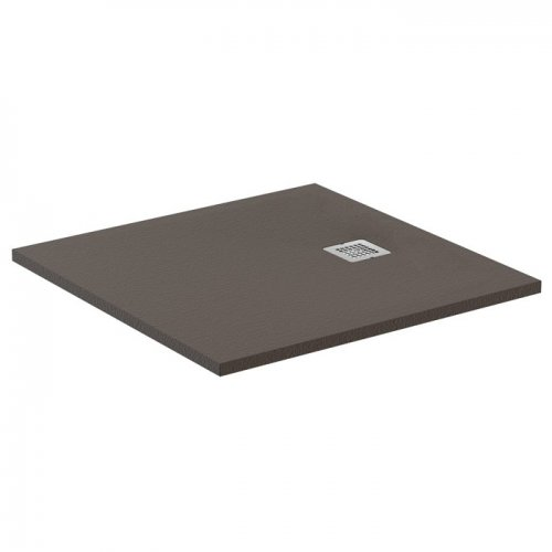 Receveur de douche Ultra Flat S - Moka Absolu - 80x80 cm